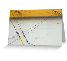 Abstract Tension Greeting Card