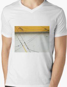 Abstract Tension Mens V-Neck T-Shirt