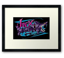 Jinx Fishbones Cannon Framed Print
