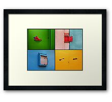 Post Framed Print