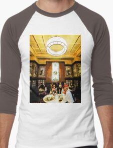 Luncheon Trays Men's Baseball ¾ T-Shirt