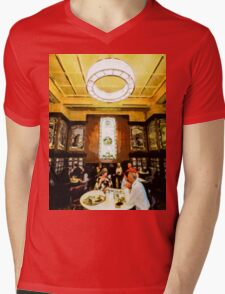 Luncheon Trays Mens V-Neck T-Shirt