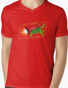 Don't Launch Too Quickly Mens V-Neck T-Shirt