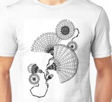 Daisies and Lines - 2 Unisex T-Shirt