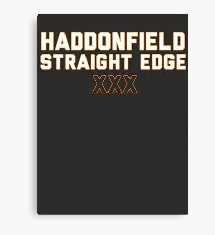 Haddonfield Straight Edge Canvas Print