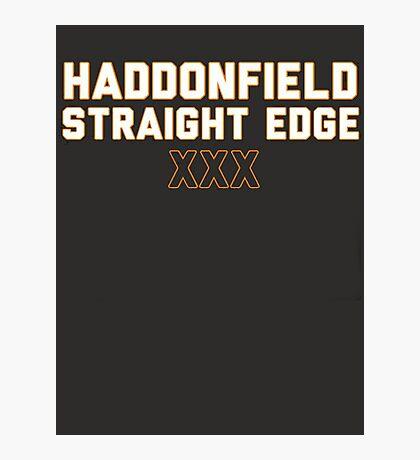 Haddonfield Straight Edge Photographic Print