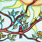 Life in the branches by HeidiArts