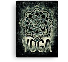 Sacred Geometry for your daily Life- YOGA DARKIE Canvas Print