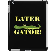 Wild Animals Later Gator Alligator iPad Case/Skin