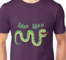Animals Reptiles Snake Hiss Hiss Unisex T-Shirt