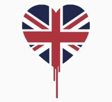 BRITISH BLEEDING HEART Kids Tee