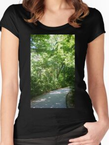 Path to Dune Overlook Women's Fitted Scoop T-Shirt