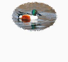 Bird Book Apparel - Northern Shoveler ♂ Unisex T-Shirt