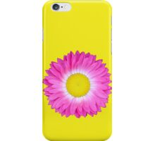 Pink and Yellow Daisy iPhone Case/Skin