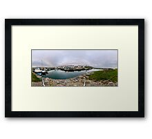 Hurry Head Harbour, Carnlough, County Antrim Framed Print