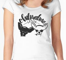 Chihuahua Lover Women's Fitted Scoop T-Shirt