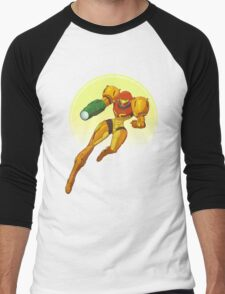 Samus Aran - Metroid Men's Baseball ¾ T-Shirt