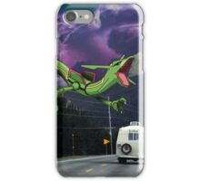 Rayquaza in the Valleys iPhone Case/Skin