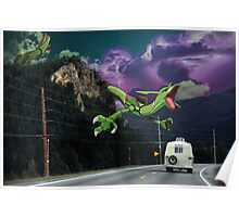 Rayquaza in the Valleys Poster