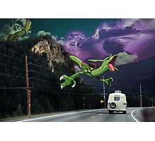 Rayquaza in the Valleys Photographic Print