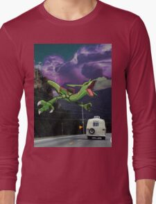 Rayquaza in the Valleys Long Sleeve T-Shirt