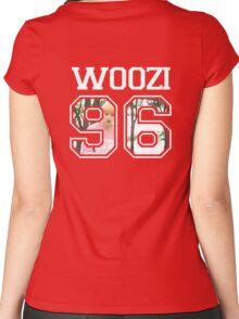 SEVENTEEN - Woozi 96 Women's Fitted Scoop T-Shirt