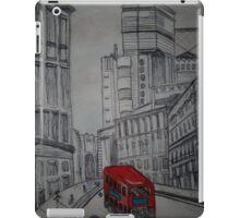 london street illustration iPad Case/Skin