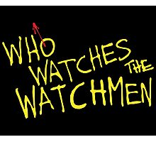Who Watches? Photographic Print