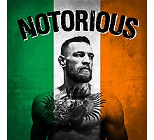 Notorious - Tricolour Face Photographic Print