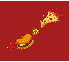 Fast food Vs Photographic Print