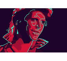 Ziggy Stardust Photographic Print