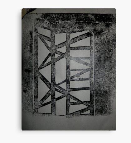 Scaffolding print Canvas Print