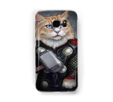 Cat Thor Samsung Galaxy Case/Skin