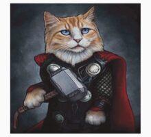 Cat Thor Kids Tee