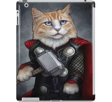 Cat Thor iPad Case/Skin