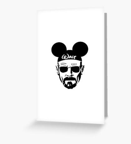 """Walt"" White / Disney Greeting Card"