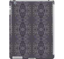 Grey on Gray Eye Lashes iPad Case/Skin