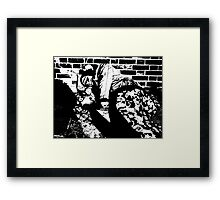 Homelessness photo Framed Print