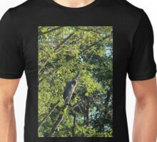 Great Blue Heron in the trees, Trojan pond, near Goble, Oregon  2 Unisex T-Shirt