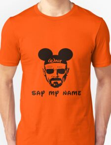Walter White Say My Name T-Shirt