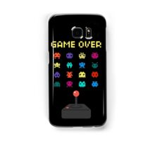Game Over 8bit Video Game Space invaders Vintage Graphic T-shirt Samsung Galaxy Case/Skin