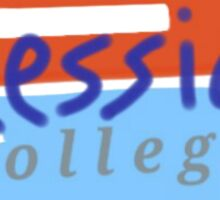 Messiah College Sticker