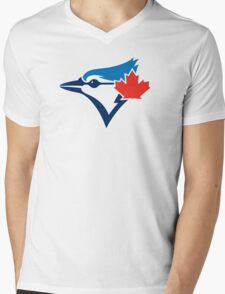 Toronto Blue Jays logo 2016 Mens V-Neck T-Shirt