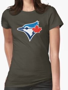 Toronto Blue Jays logo 2016 Womens Fitted T-Shirt