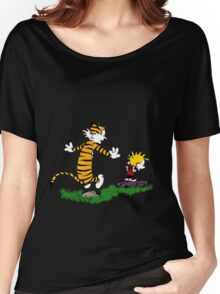 adventure calvin and hobbes Women's Relaxed Fit T-Shirt