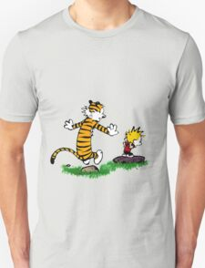 adventure calvin and hobbes T-Shirt