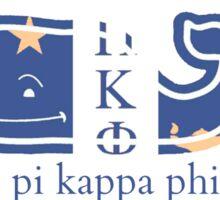 Pi Kappa Phi Whale Sticker