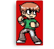 Scott Pilgrim 8-bit art Canvas Print