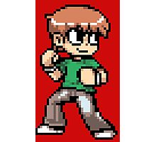 Scott Pilgrim 8-bit art Photographic Print