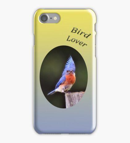 Bird Lover - bluebird phone case iPhone Case/Skin